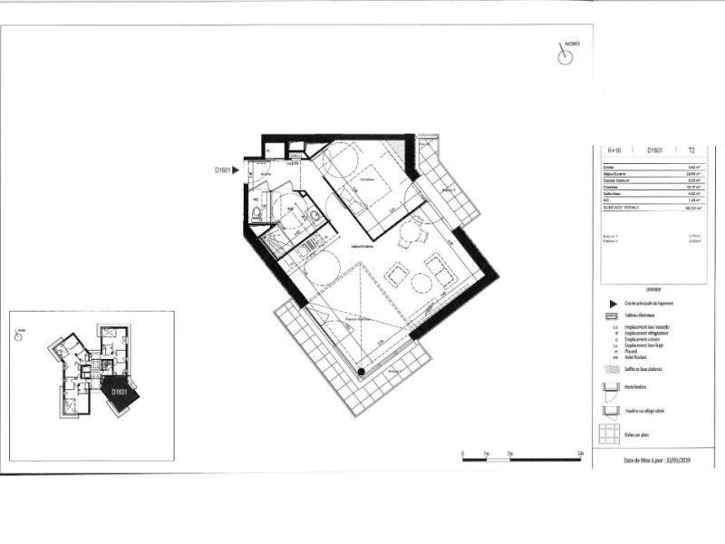 Venta  apartamento Rennes 229000€ - Fotografía 6
