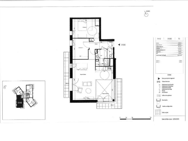 Venta  apartamento Rennes 279000€ - Fotografía 6