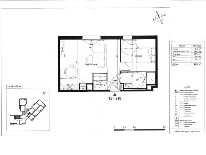 Venta  apartamento La rochelle 185000€ - Fotografía 3