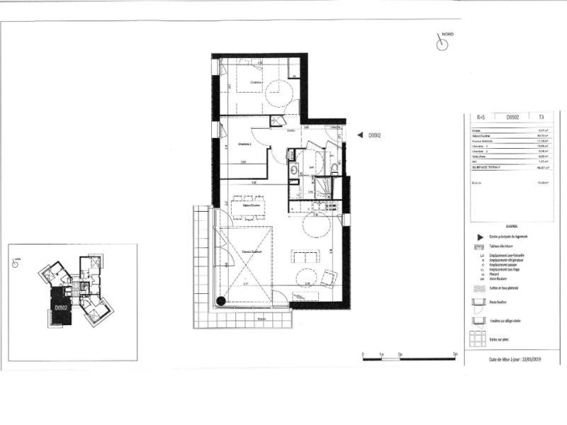 Venta  apartamento Rennes 252000€ - Fotografía 6