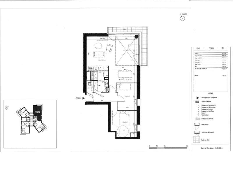 Sale apartment Rennes 222000€ - Picture 6
