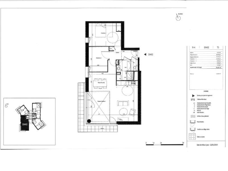 Venta  apartamento Rennes 250000€ - Fotografía 6