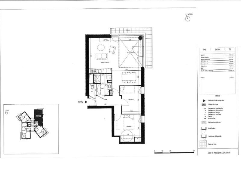 Venta  apartamento Rennes 220000€ - Fotografía 6