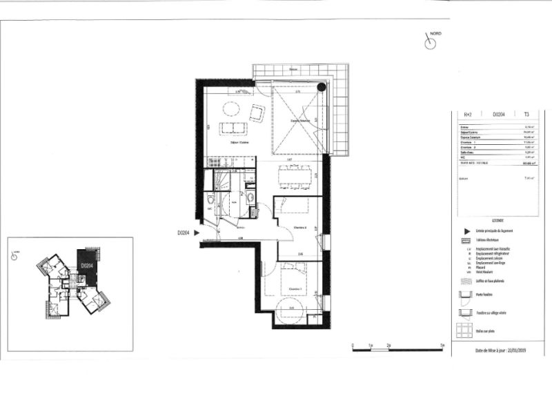 Sale apartment Rennes 218000€ - Picture 6