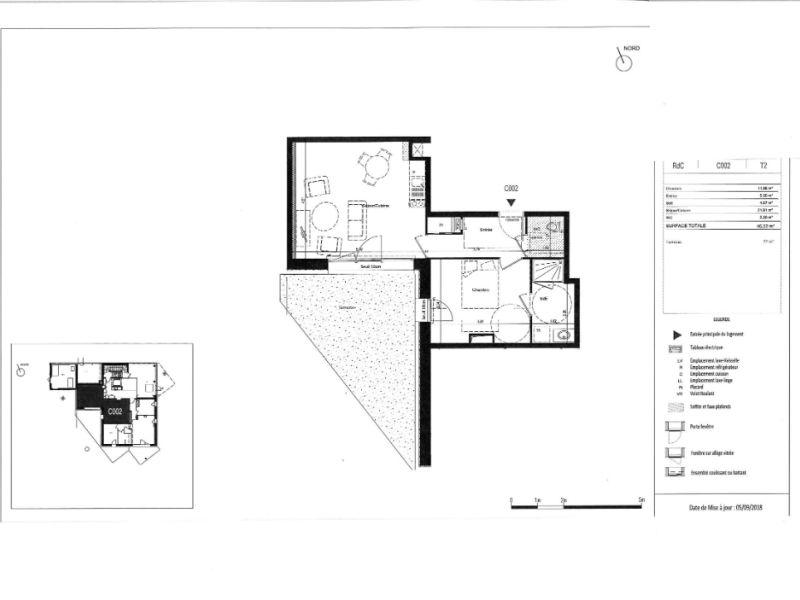 Venta  apartamento Rennes 200000€ - Fotografía 6