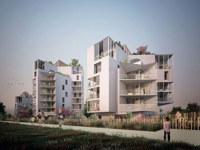 Sale apartment Rennes 433000€ - Picture 2