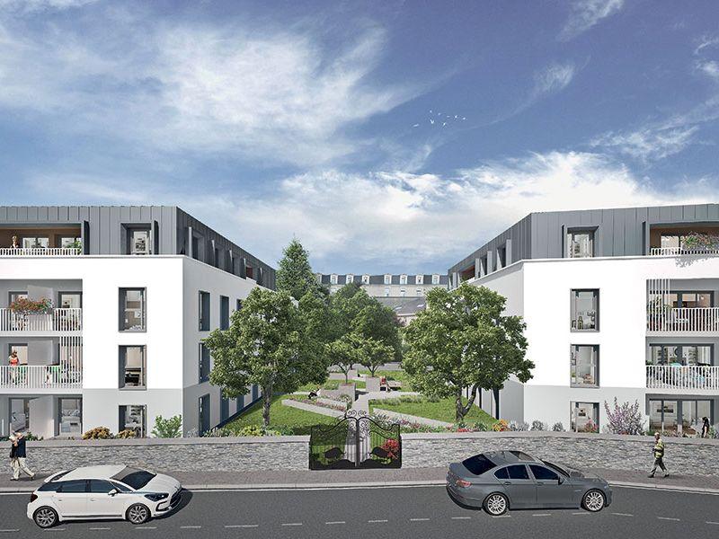 Venta  apartamento Angers 338000€ - Fotografía 1