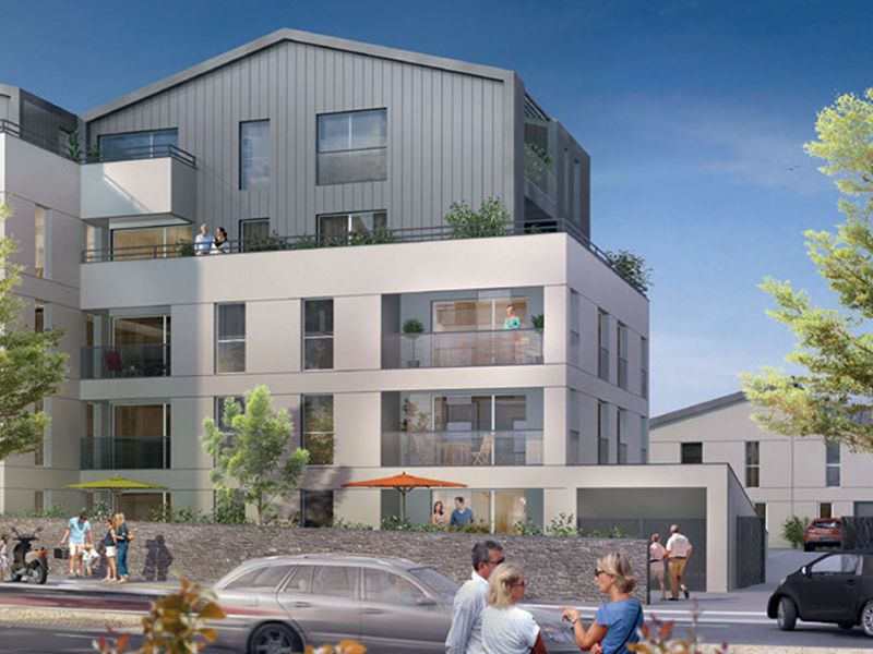 Venta  apartamento Angers 233000€ - Fotografía 1