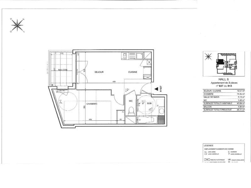 Sale apartment Toulouse 186000€ - Picture 3