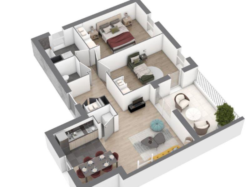 Venta  apartamento Saint nazaire 216000€ - Fotografía 5