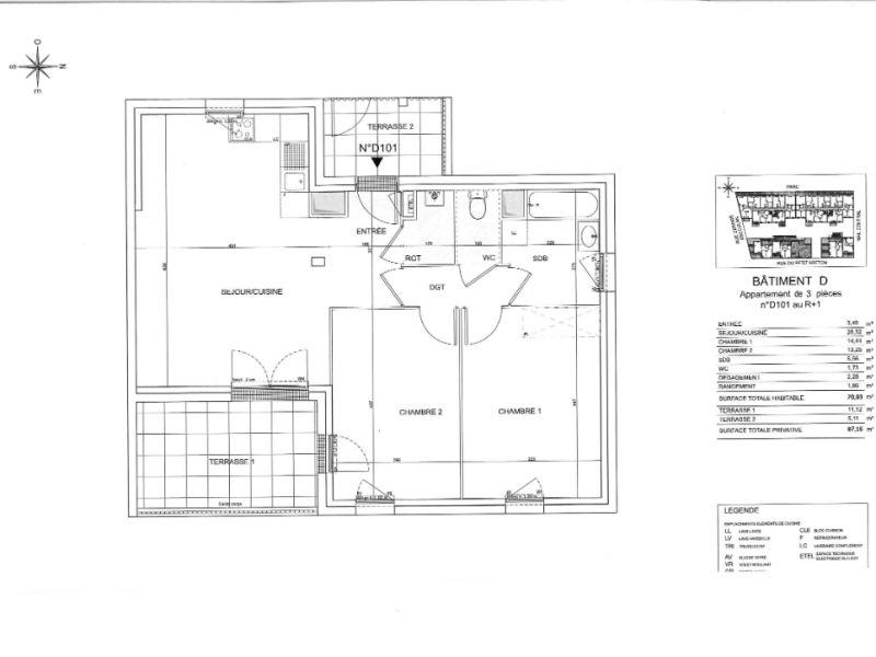 Venta  apartamento Saint nazaire 216000€ - Fotografía 6