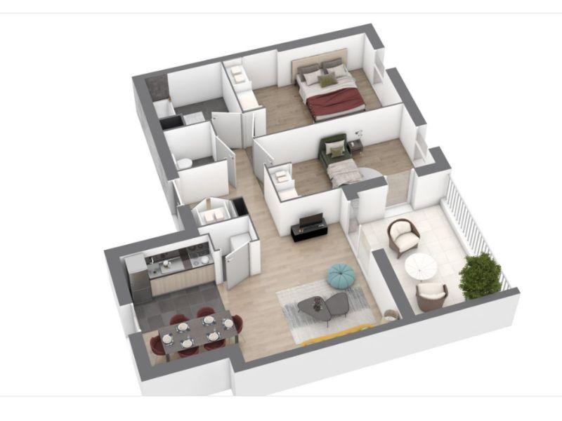 Venta  apartamento Saint nazaire 212000€ - Fotografía 4