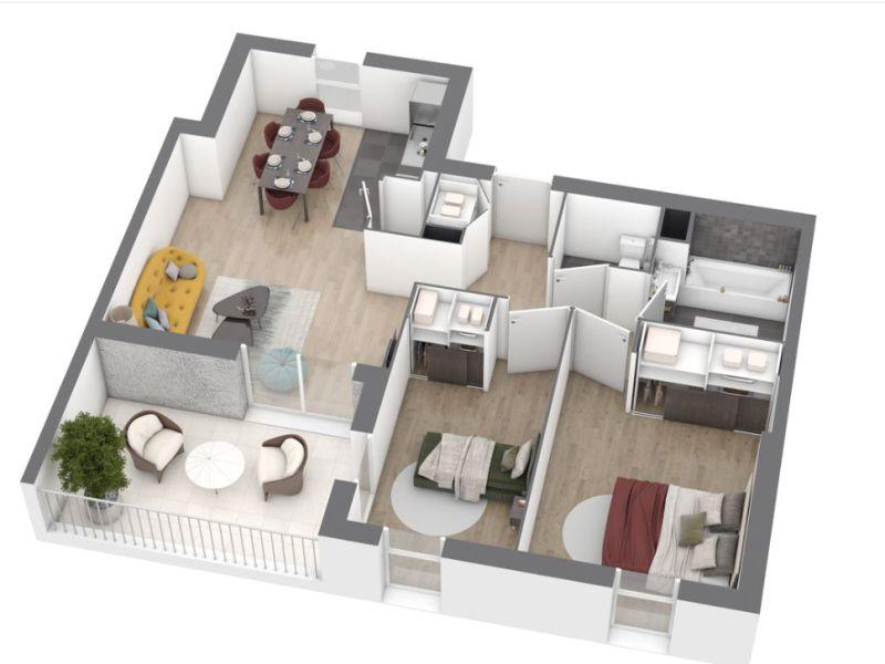 Venta  apartamento Saint nazaire 212000€ - Fotografía 5