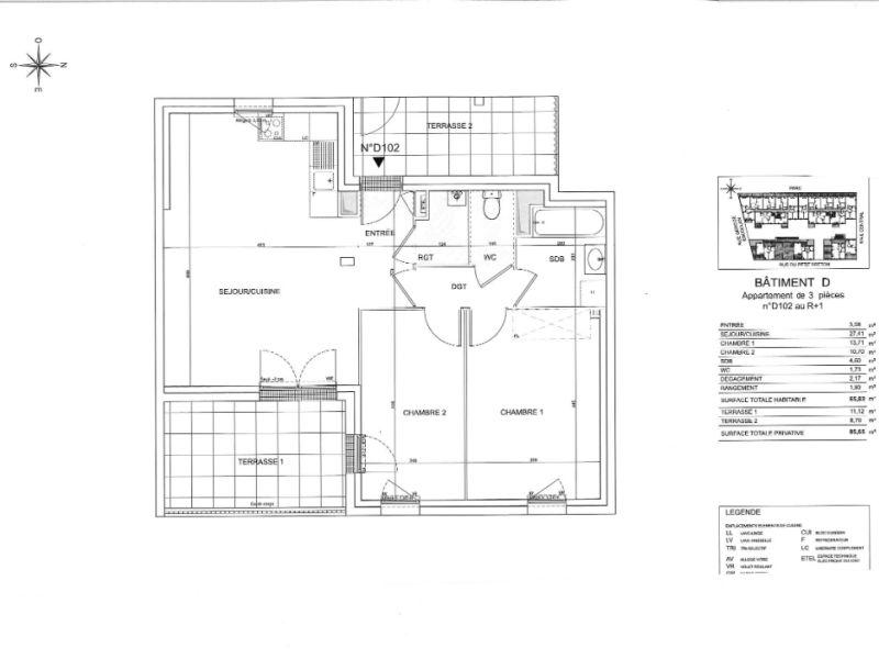 Venta  apartamento Saint nazaire 212000€ - Fotografía 6