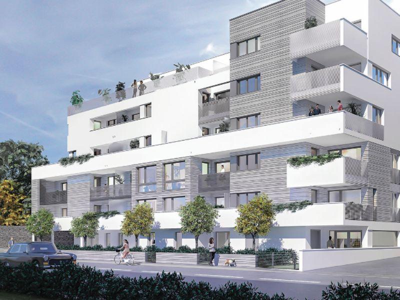 Venta  apartamento Rennes 321000€ - Fotografía 1