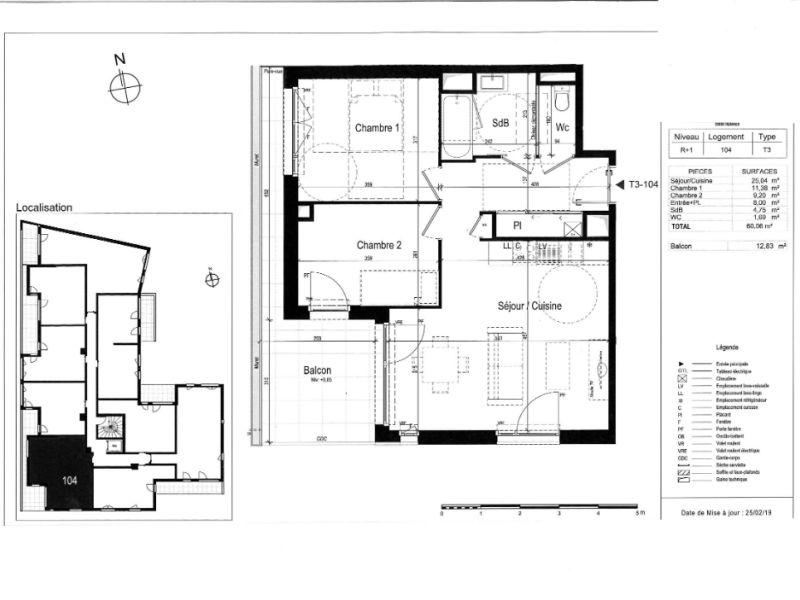 Venta  apartamento Rennes 296000€ - Fotografía 3