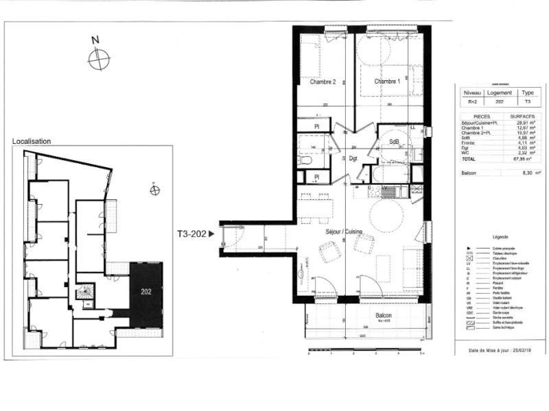 Venta  apartamento Rennes 327000€ - Fotografía 3