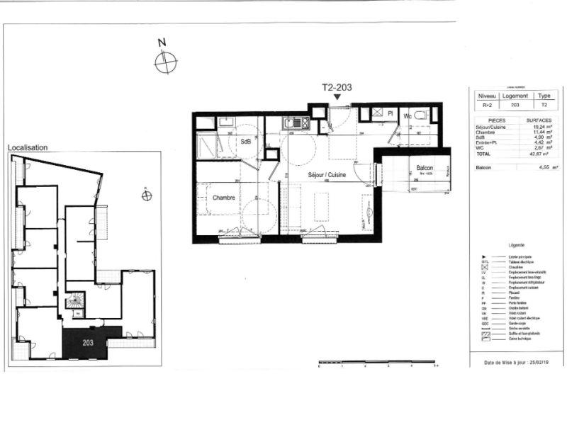 Sale apartment Rennes 206000€ - Picture 3