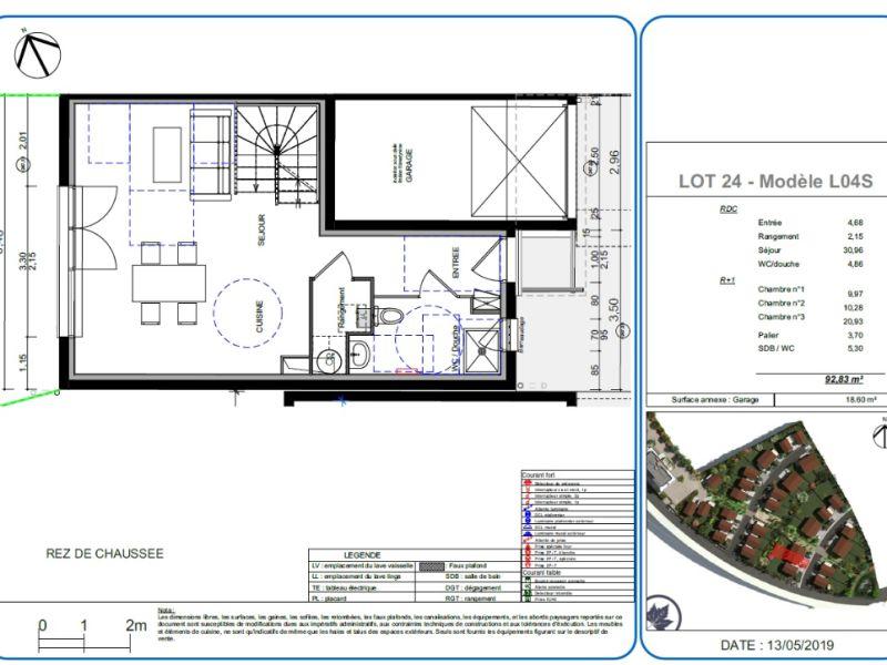 Vente maison / villa L isle d abeau 277400€ - Photo 4