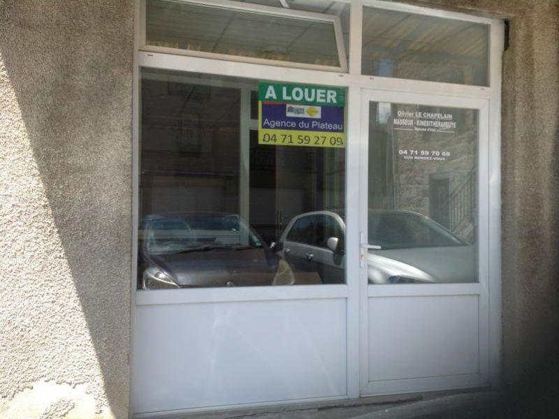 Location local commercial Le chambon sur lignon 350€ HC - Photo 3