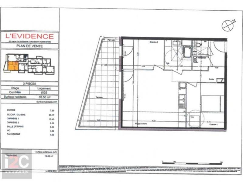 Venta  apartamento Prevessin-moens 370000€ - Fotografía 2