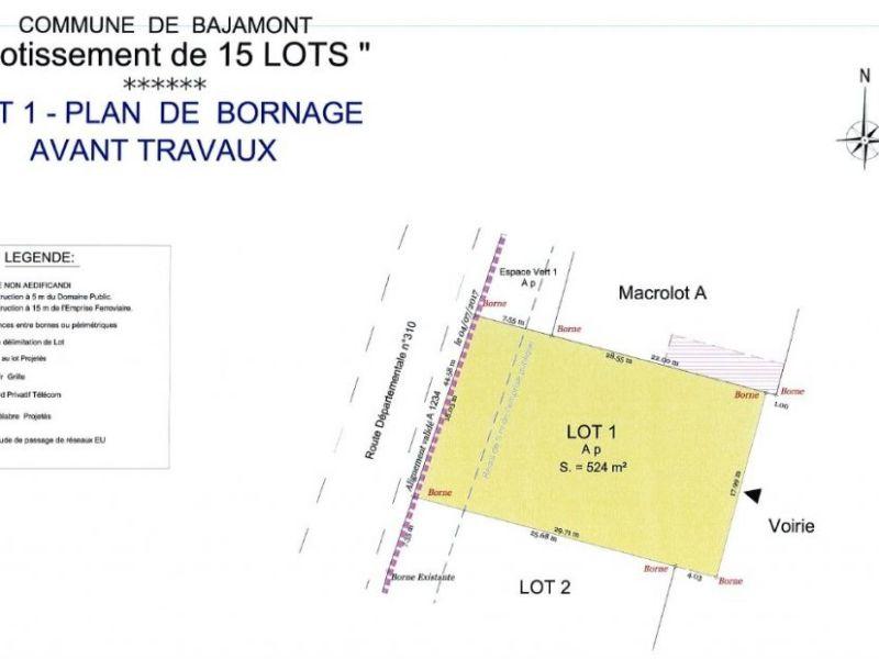 Terrain à bâtir - 523 m2