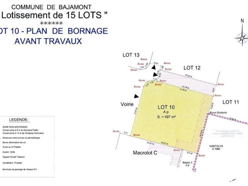Terrain à bâtir - 497 m2