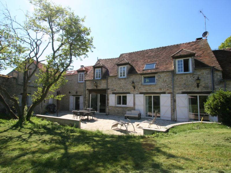 Sale house / villa Acheres la foret 950000€ - Picture 1