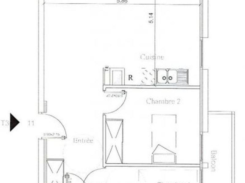 Appartement T2 - Parking - Terrasse