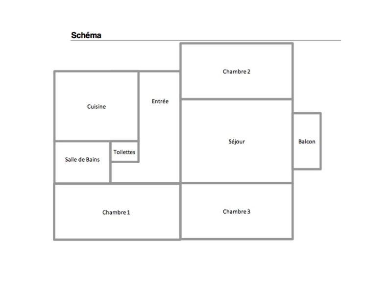 Villeurbanne - 4 pièce(s) - 63,08 m2
