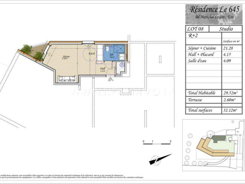 Sale apartment Èze 176700€ - Picture 4