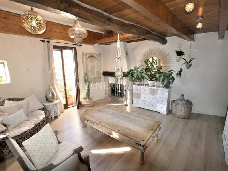 Sale apartment Sainte-agnès 227000€ - Picture 1