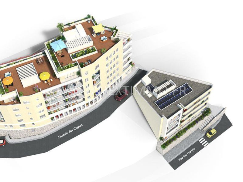 Vendita appartamento Beausoleil 392000€ - Fotografia 3