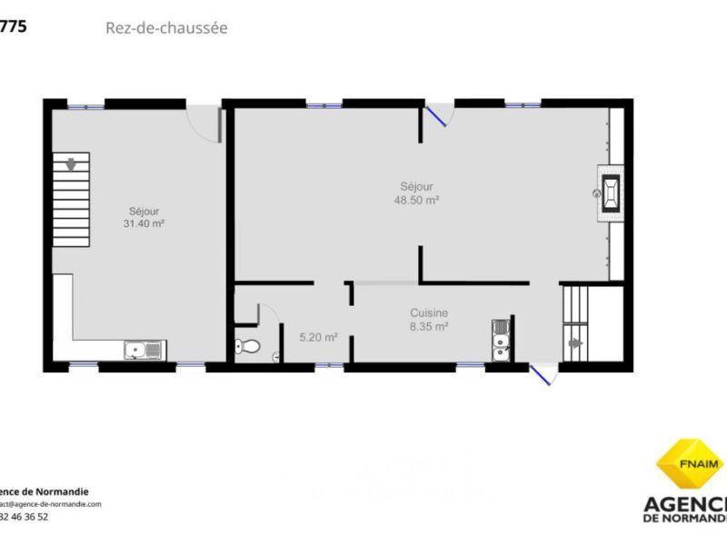 Sale house / villa Montreuil-l'argillé 370000€ - Picture 5