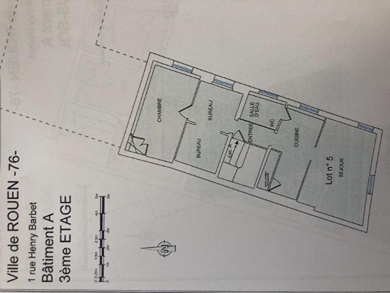 Vente appartement Rouen 139000€ - Photo 9