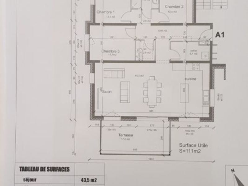 Sale apartment Péronnas 336000€ - Picture 1