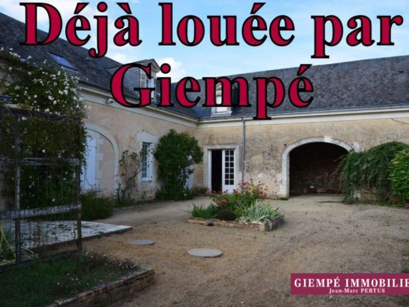 Location maison / villa Jarzé 695€ CC - Photo 1