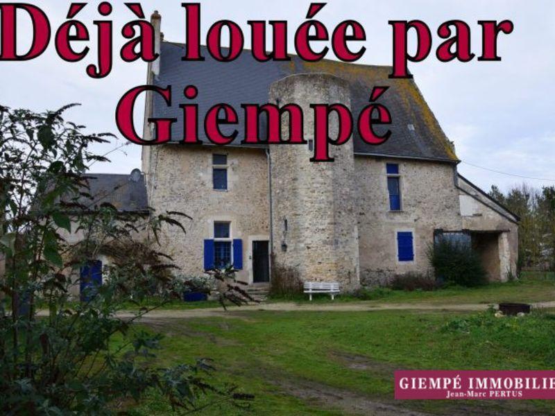 Rental house / villa Baugé 505€ CC - Picture 1