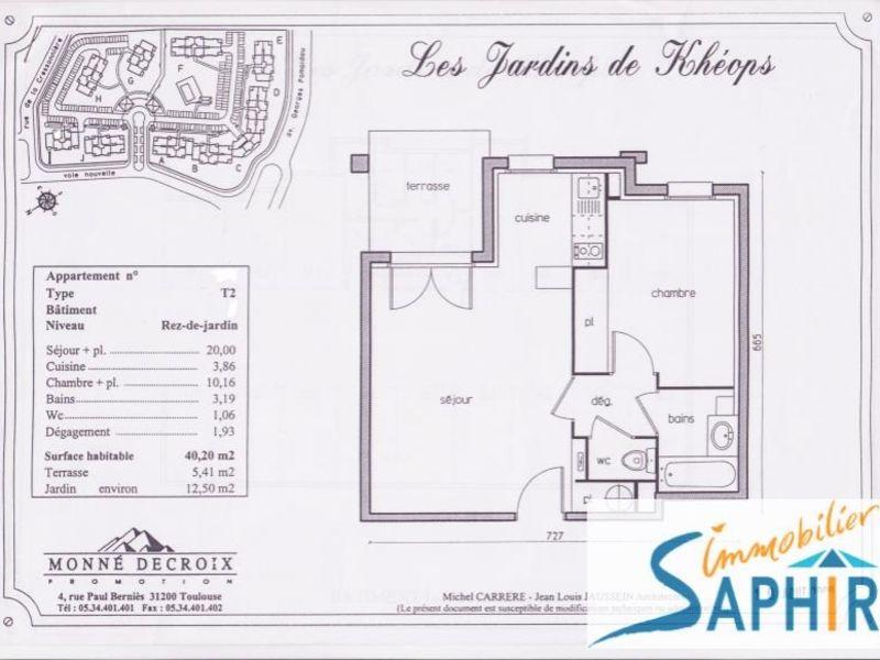 Sale apartment Cugnaux 121900€ - Picture 2