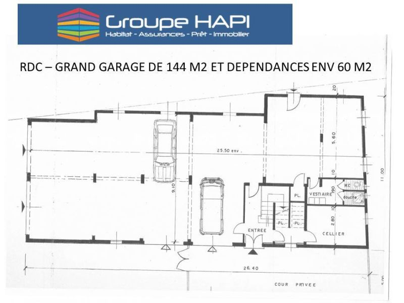 Sale parking spaces Grenoble 469 000€ - Picture 1