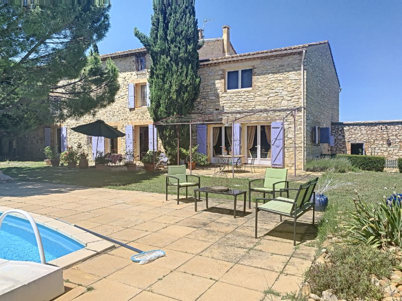 Sale house / villa Saint victor la coste 664 000€ - Picture 1