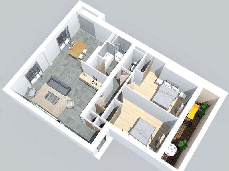 Vente appartement Bordeaux 485000€ - Photo 3