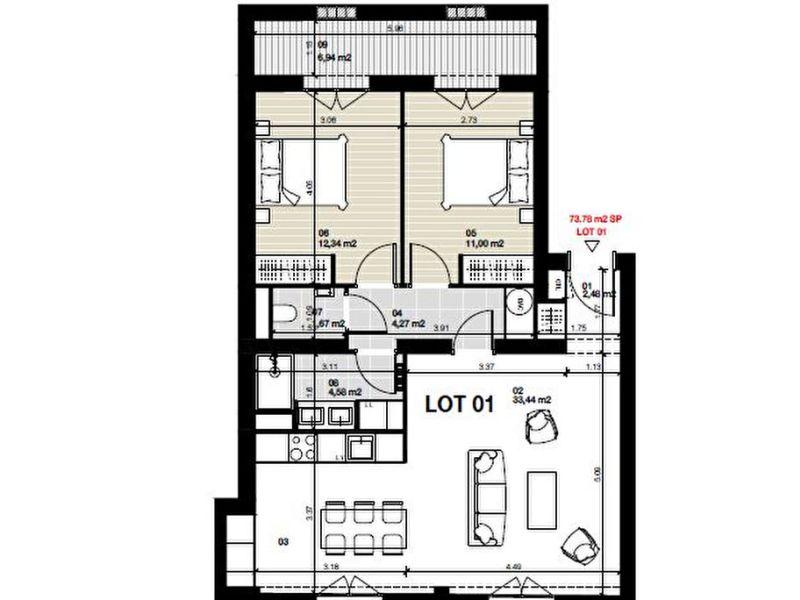 Vente appartement Bordeaux 485000€ - Photo 5