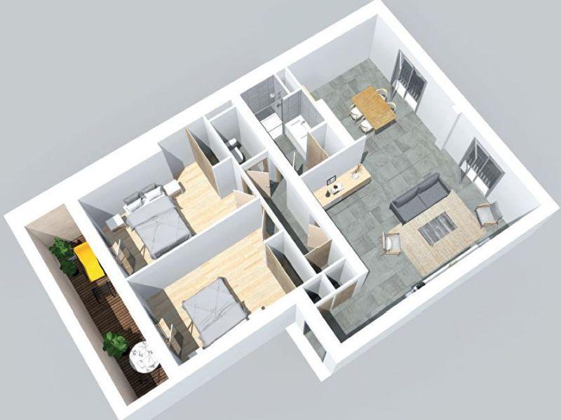 Vente appartement Bordeaux 466000€ - Photo 5