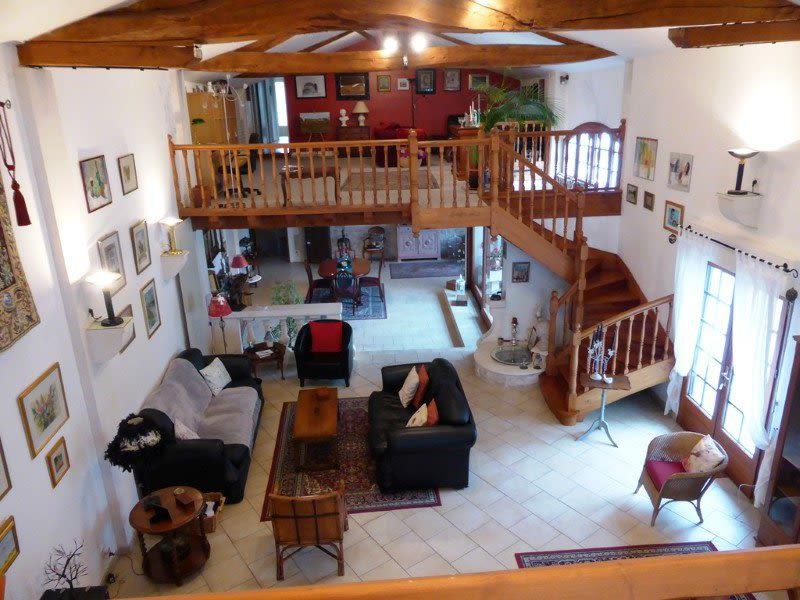 Vente maison / villa Graves 397500€ - Photo 2