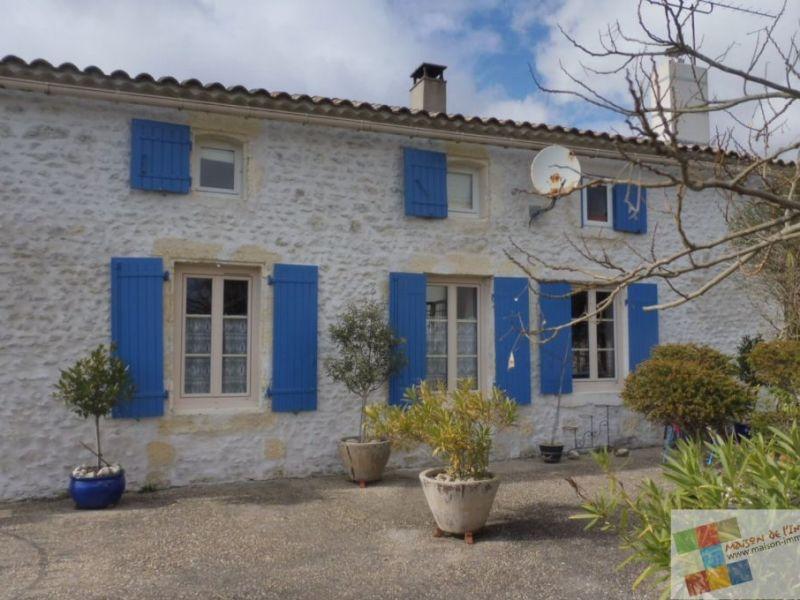 Vente maison / villa Barzan 283500€ - Photo 1