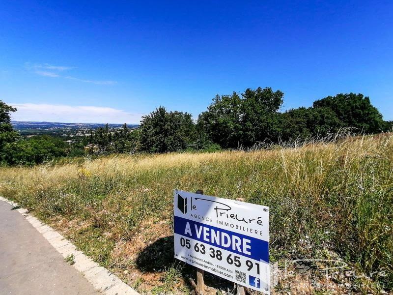 Verkoop  stukken grond Puygouzon 125000€ - Foto 1