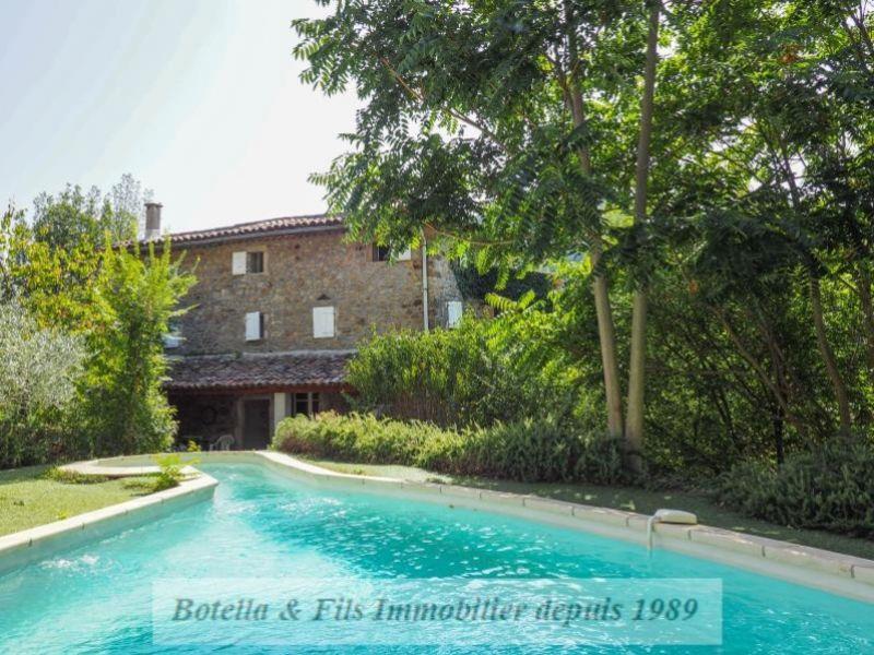 Venta de prestigio  casa Uzes 395000€ - Fotografía 1