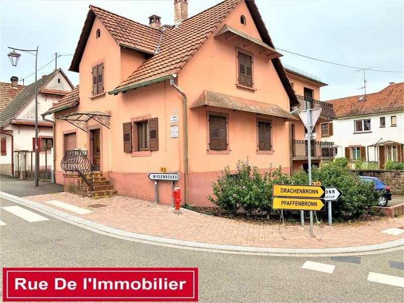 Vente maison / villa Climbach 117499€ - Photo 1