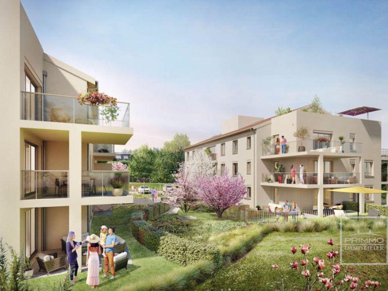 Appartement neuf T2 de 49 m² avec terrasse à Charbonnières les B